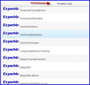 EA Factory product list