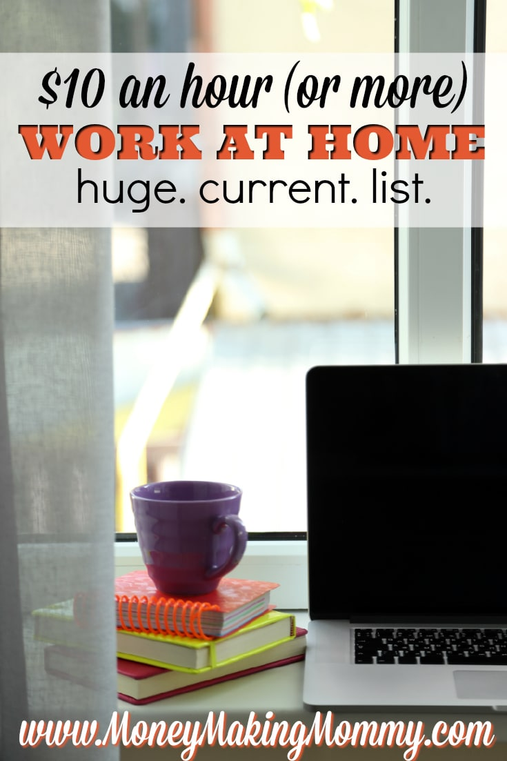 Work at Home Jobs That Pay Well