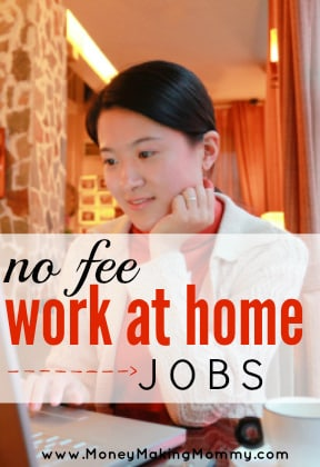 No Fee Work At Home Jobs Job Leads Included