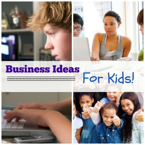 List of Kid Business Ideas