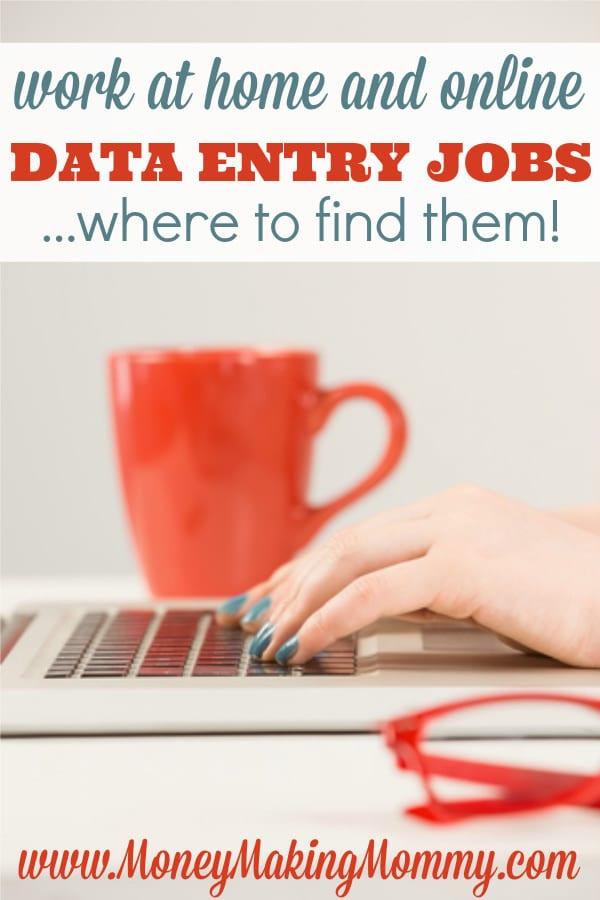 Finding Online Data Entry Jobs