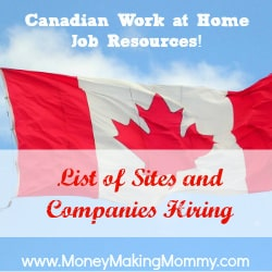 Canadian Work at Home Jobs
