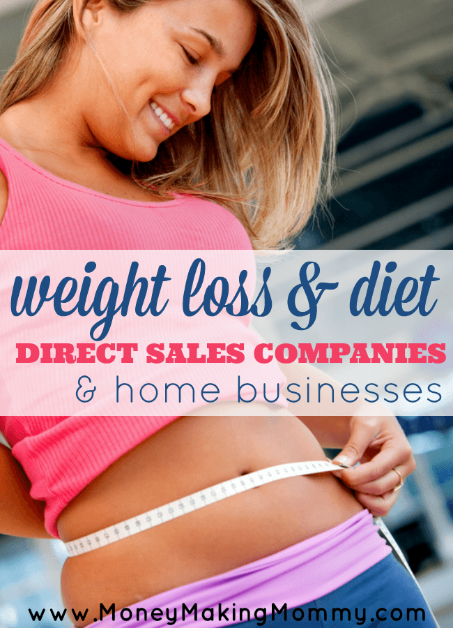 Diet and Weight Loss Direct Sales Companies