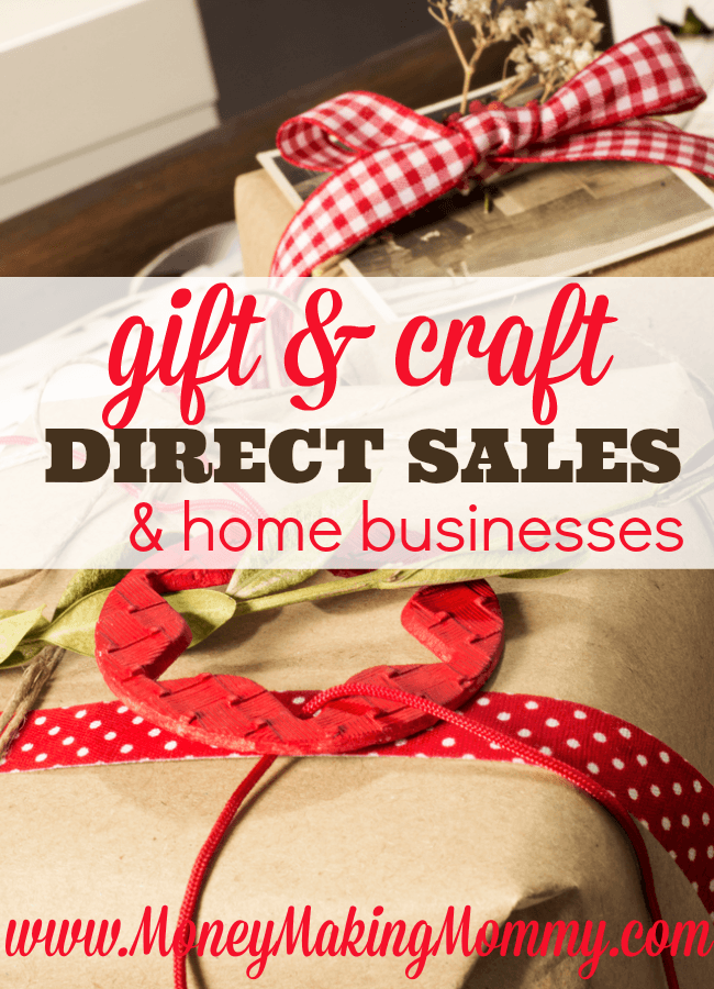 List of Gift and Craft Direct Sales Companies
