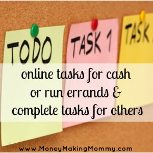 Online Tasks for Money