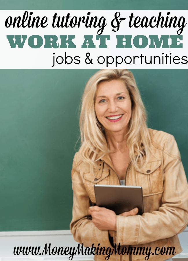 Online Tutoring and Teaching Jobs