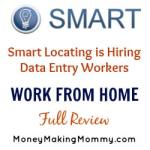 Smart Locating has Data Entry Work Available