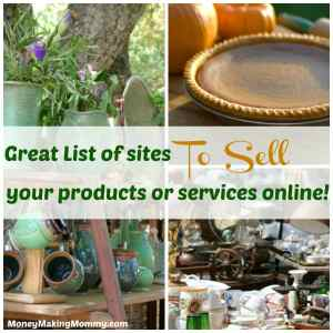 Where to sell stuff online