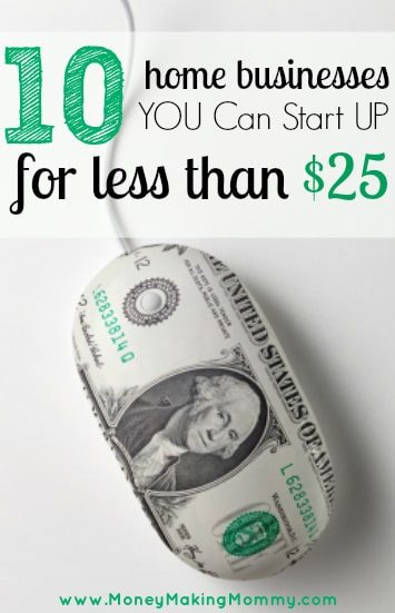 Low Cost Home Business List