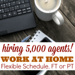 Hiring Over 5,000 Full-time/Part-time Work at Home Reps