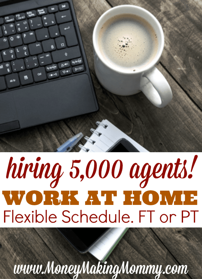 Flexible Work at Home Hiring! Hiring 5,000 Agents!