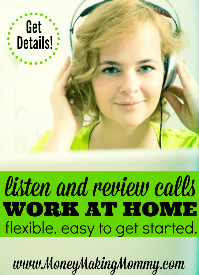 Get Paid to Listen and Review Calls from Home