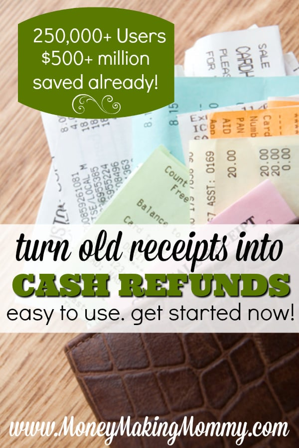 Turn Old Receipts Into Cash