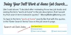 Work at Home Jobs at Dell Computers