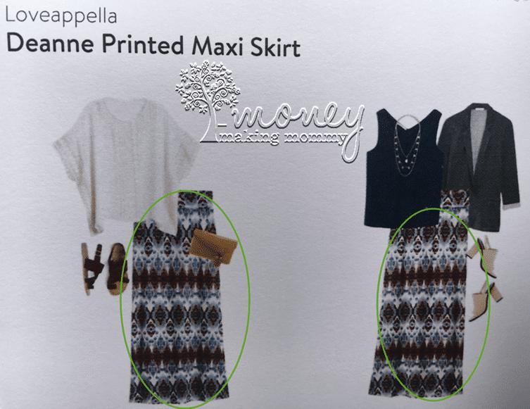 StitchFix Maxi Skirt Review