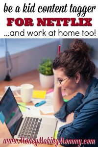 Work at Home for Netflix