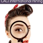 Work from Home as a Background Investigator at CACI International