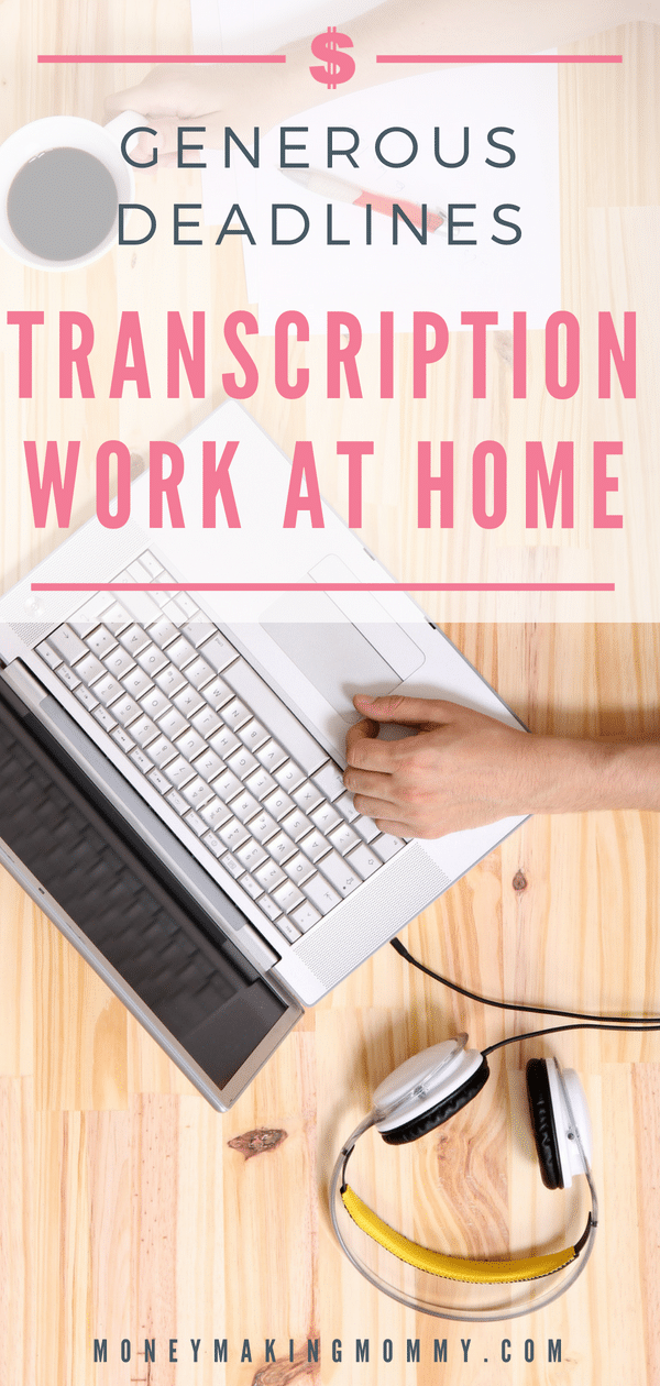 Looking for transcription jobs you can do from home? Here's a company with generous deadlines and typically a steady flow of work.  Possibilities for beginners too! - MoneyMakingMommy.com -  https://www.moneymakingmommy.com/castingwords-review-transcriptionists-can-find-steady-work/ #transcriptionjobs