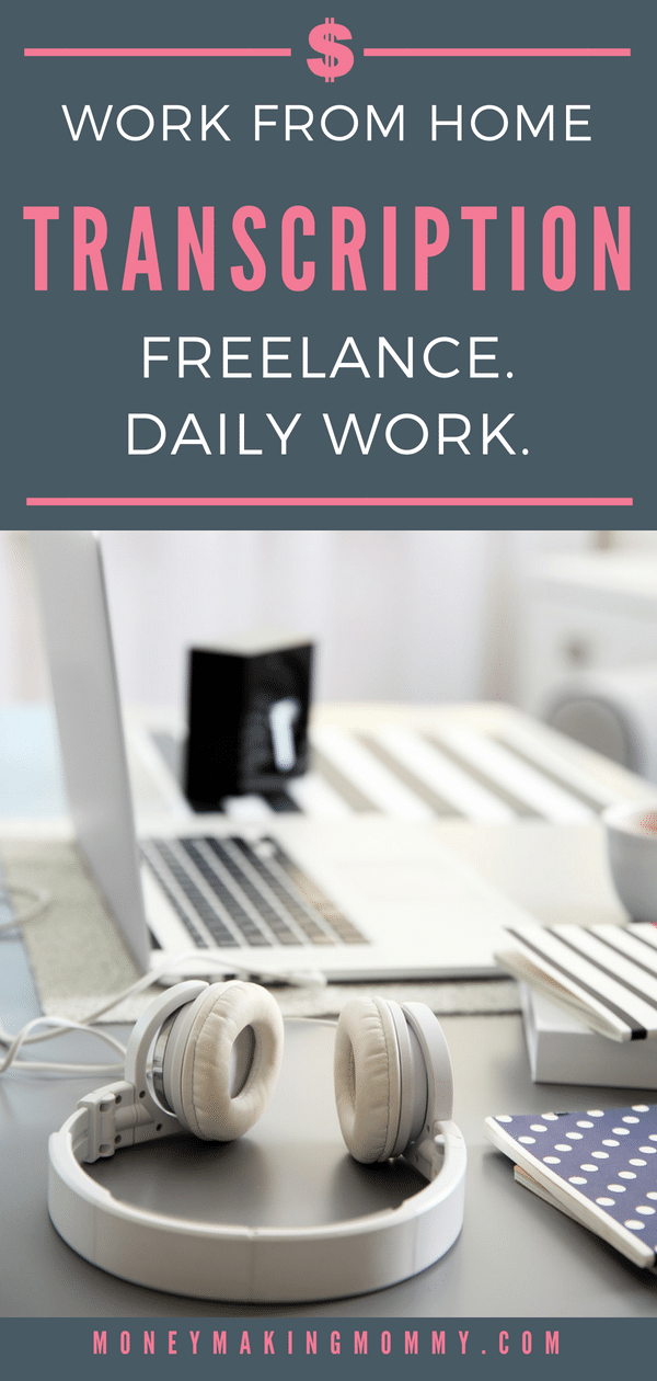 Here's a transcription job that lets you work at home. If you can commit time to this company on a daily basis, it would be a great extra income option for those wanting to work from home in transcription. - MoneyMakingMommy.com - https://www.moneymakingmommy.com/dictate-express-review/ #workathome #legitimateworkfromhome #transcriptionjobs