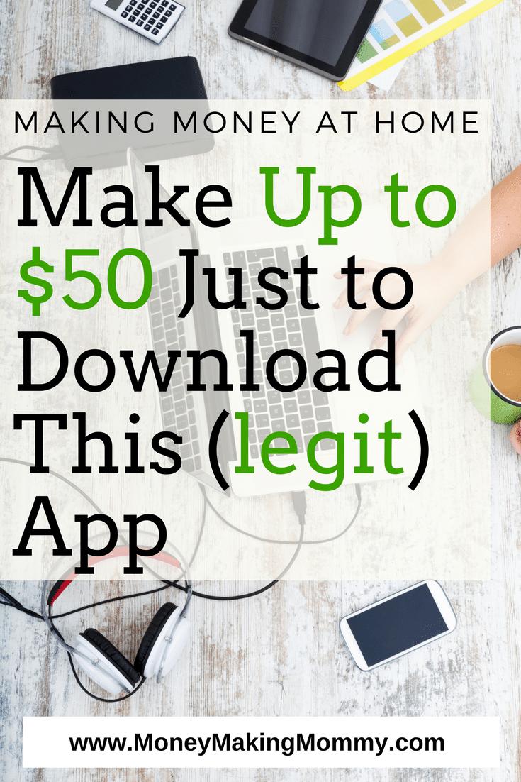 Earn $50 Using This Legit App