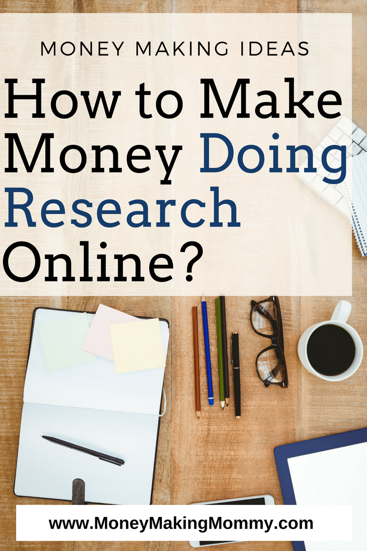 Making Money with an Online Research Job
