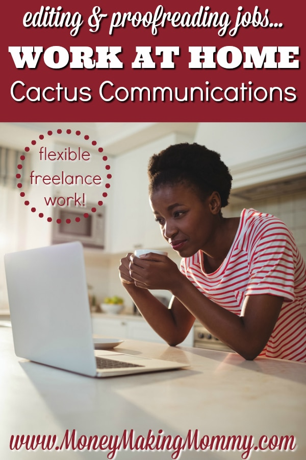 Work at Home Jobs In Proofreading at Cactus