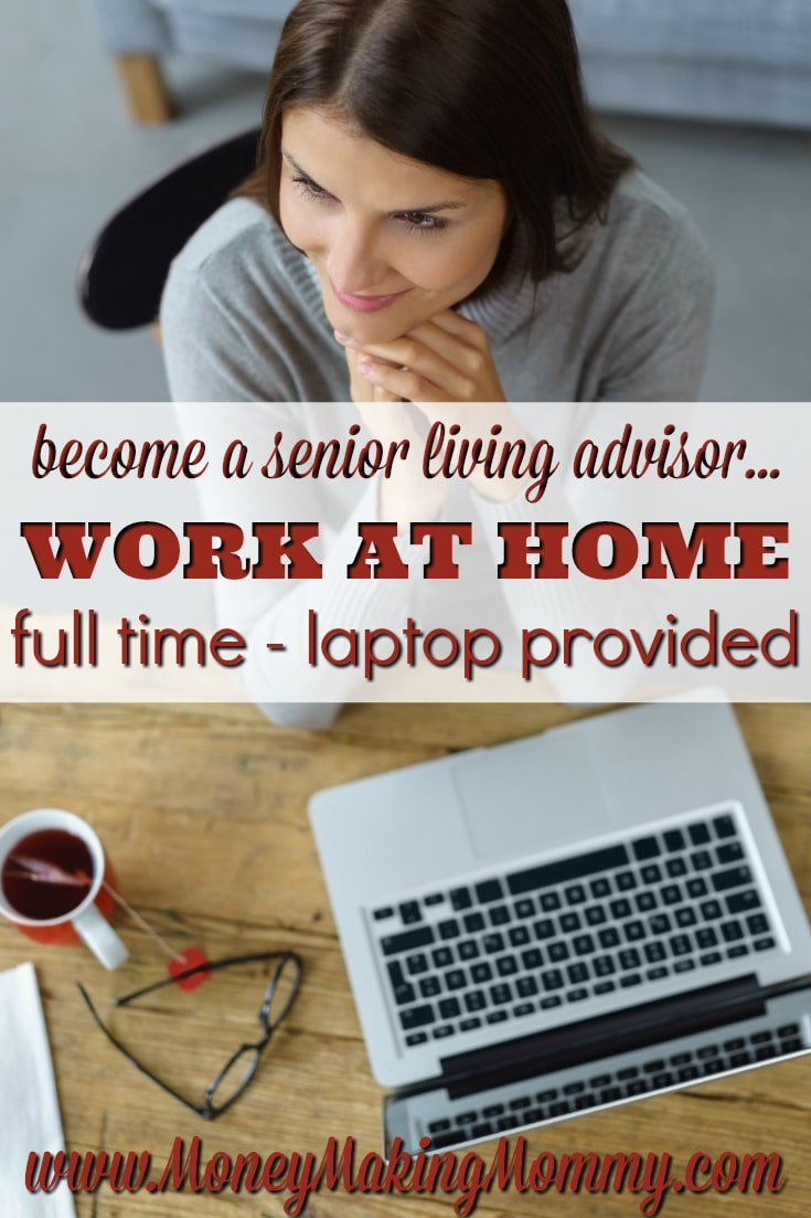 Senior Living Advisor Telecommute Job
