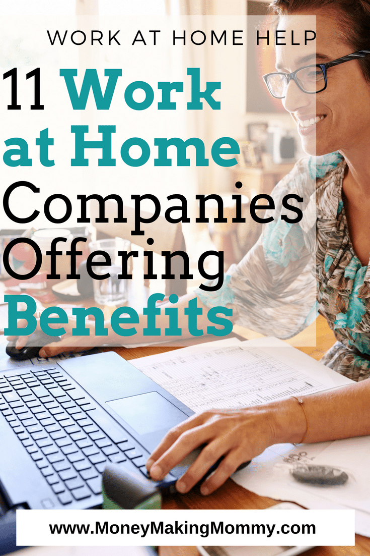 Work at Home Jobs with Benefits