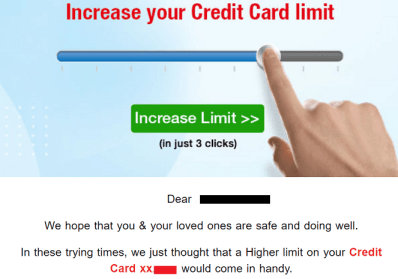 How to Increase HDFC Credit Card Limit