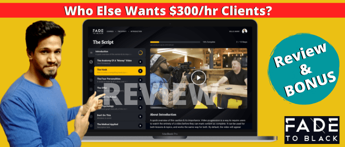 Fade To Black Review – How To Make $600,000 In 4 days.