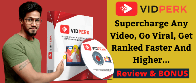"Vidperk Review – The ""UNKNOWN SECRET"" To High Video Rankings & Sales.."