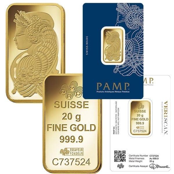 pamp suisse 20 gram