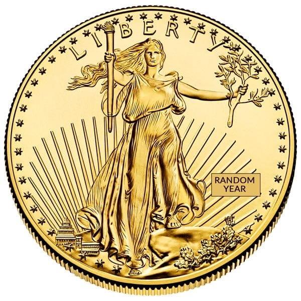 1 oz gold american