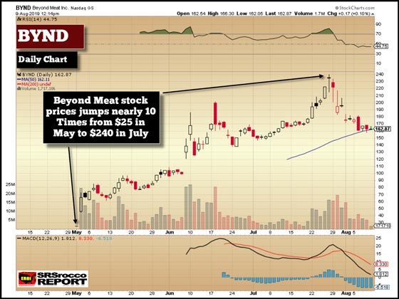 BYND (Daily Chart) - August 9, 2019