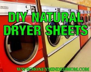DIY Natural Dryer Sheets