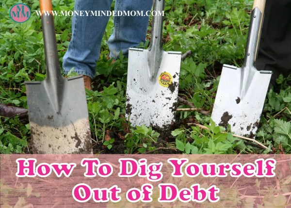 How To Dig Yourself Out of Debt? Read on to learn how to finally get yourself out of debt...