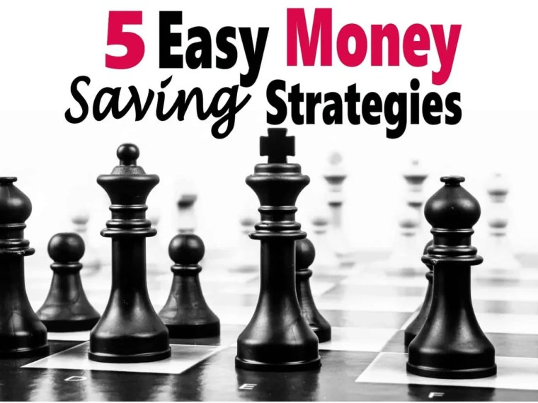 5 Easy Money Saving Strategies ~ Saving money doesn't need to be super difficult, a few small changes can make a big difference. Check out these 5 easy ways to start saving. saving money   money   frugal   save money   finance #money #finance #savemoney # saving money