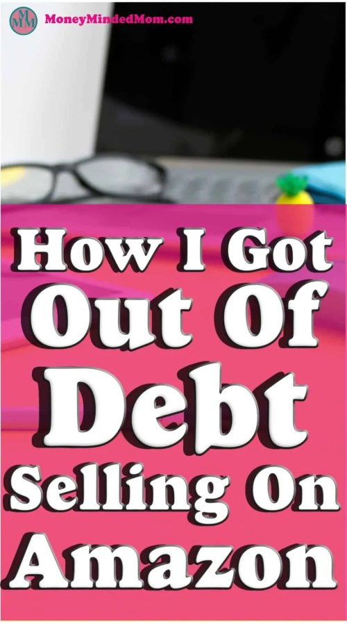 How I Got Out of Debt Selling On Amazon ~ Selling on Amazon is a great way to earn extra money. It helped me earn money to get out of debt and even now I still sell on Amazon. If you are looking to make extra income then read on to find out how with Amazon.