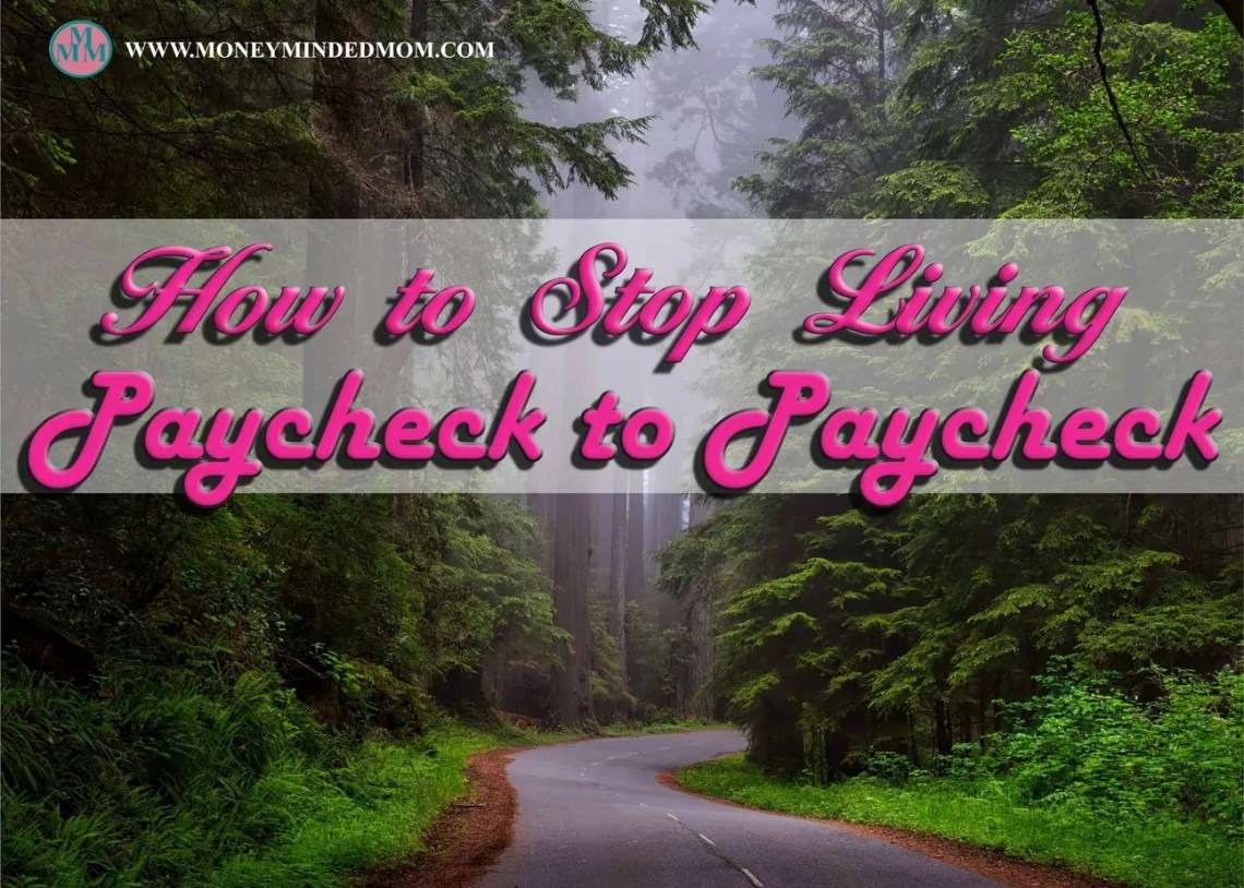 How to Stop Living Paycheck to Paycheck ~ Living paycheck to paycheck is no way to live. If you are in this situation the read on to find out how to finally get ahead.