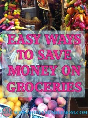 Easy Ways to Save Money on Groceries