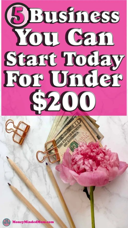 5 Business You Can Start For Under $200 ~ In this day and age, it's never been easier to start a business with little capital. Many people are looking for home based business that will help bring in extra income and improve their finances. If you are looking to start a business, read on for 5 great options that can be started for under $200