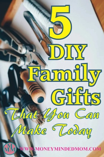 Family gifts are more personal and appreciated when it there is thought and effort put into them. The recipient knows that you spend time and effort to make something that they love and in turn cherish the gift even more. Read on for some great ideas of thoughtful gifts you can make for your loved ones.