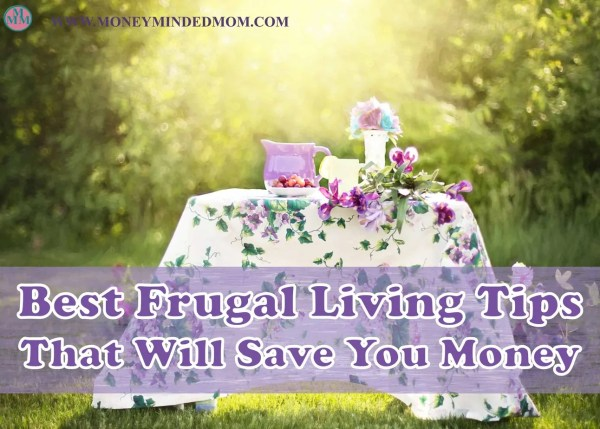 Best Frugal Living Tips That Will Save You Money ~ Frugal living and being thrifty to save money is a way of life everyone should do. It's not being cheap, it's being smart on how you spend your money. Read on for my best frugal living tips.