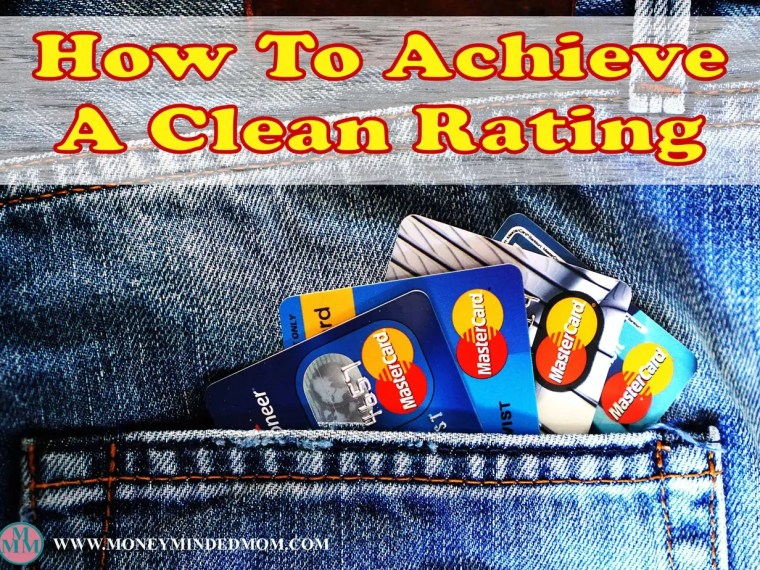How to Achieve a Clean Credit Rating - Your credit has a huge impact on your finances and saving money. Read on to learn how to get great credit to save more.