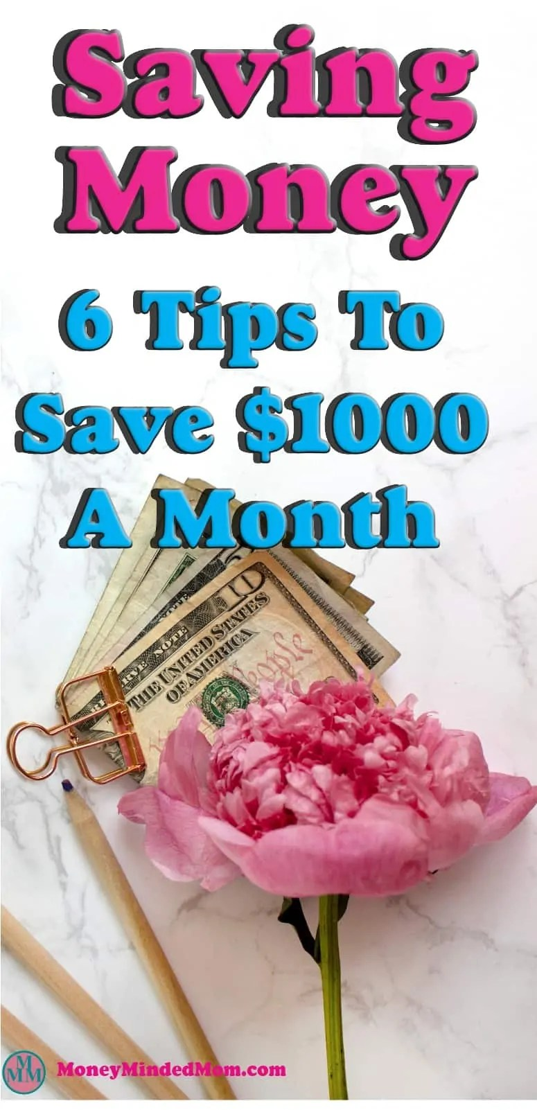 Saving Money ~ Super Simple Ways to Save $1000 a Month ~ Saving an extra $1000 a month might seem like an impossible task, but it really isn't. Small changes go a long way to saving money, balancing your budget and managing money. Read on to learn how small changes can really add up to a huge amount of saving money.