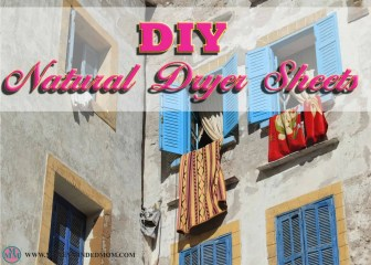 """DIY Natural Dryer Sheets ~ Who doesn't want great smelling clothing? The problem is """"there is no way I am spending all that money on laundry detergents and dryer sheets just for the smell"""" Prices for these great smelling products are crazy expensive. You can make your own Natural Dryer Sheets for Pennies and have clothes that smell just as good as others who are paying way too much money to get the same end result."""