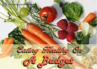 Eating Healthy On a Budget l Easy and budget friendly ways to eat healthy without spending a fortune ~ Are you wanting to eat healthier but don't want to spend a ton of extra money on food? Read on to learn how to eat healthy, stick to your budget and save money all at the same time.