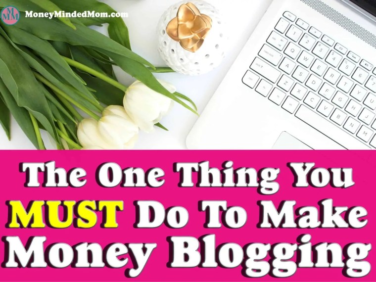 How to Make Money Blogging ~ Blogging for profit is a business and if you want to make money from you blog you need to run it like a business. And there is one simple thing that you need to do to make that happen. Click over to find out what that is.
