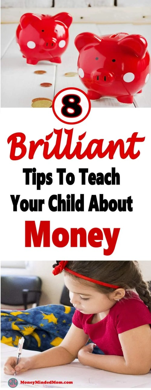 Brilliant Ways to Teach Children About Money ~ Starting to teach children about money when they are young is what all parents should do. It instills the value of money right from the start and helps to improve their entire lives. Read on for some brilliant ways to teach your child about money that will benefit them for the rest of their lives. money | kids | education #money #finance #kidsandmoney #savingmoney