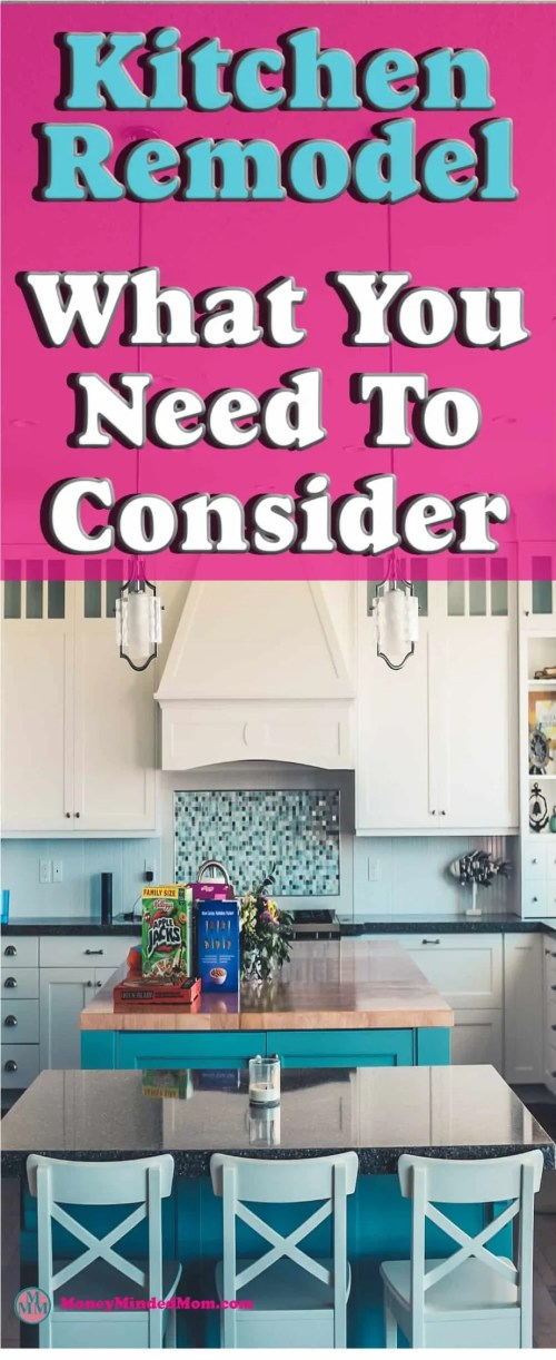 Kitchen Remodel ~ Thinking of a Kitchen Remodel - What You Need To Consider ~ There are many things you need to consider when planning a kitchen remodel. Read on for some tips that will help you get the kitchen of your dreams, save money and control your budget at the same time.